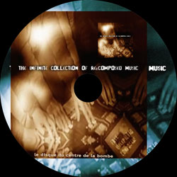 disc label of the recompositions collection