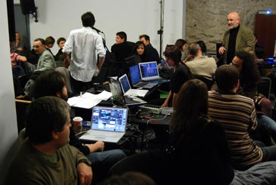 the Accomplishes of Noises at Audio Art 2009 (1)
