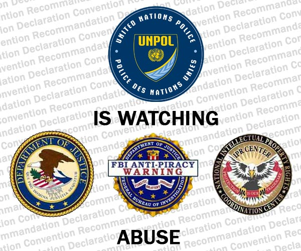 UN police is watching FBI abuse