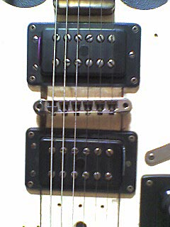 bridge of our electric guitar