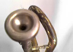 we play music with just a mouthpiece of trumpet or trombone