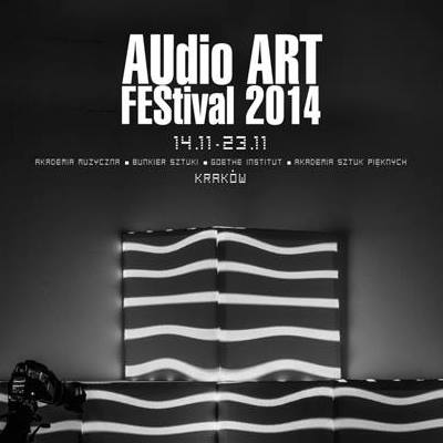 audio art 2014 poster