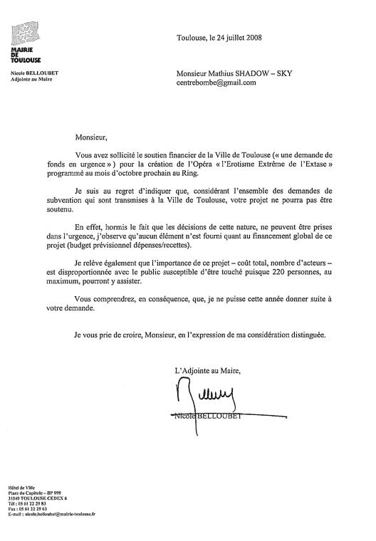 modele de lettre d u0026 39 invitation pour le maire