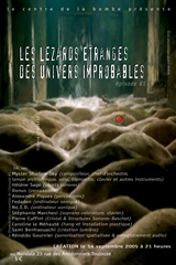 Les Lezards Etranges des Univers Improbables: episode 1 (cover small)